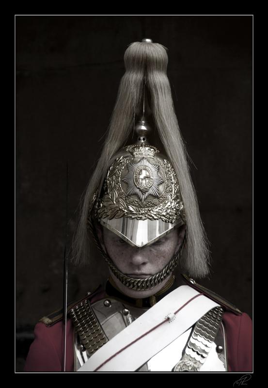 Royal guard at Buckingham